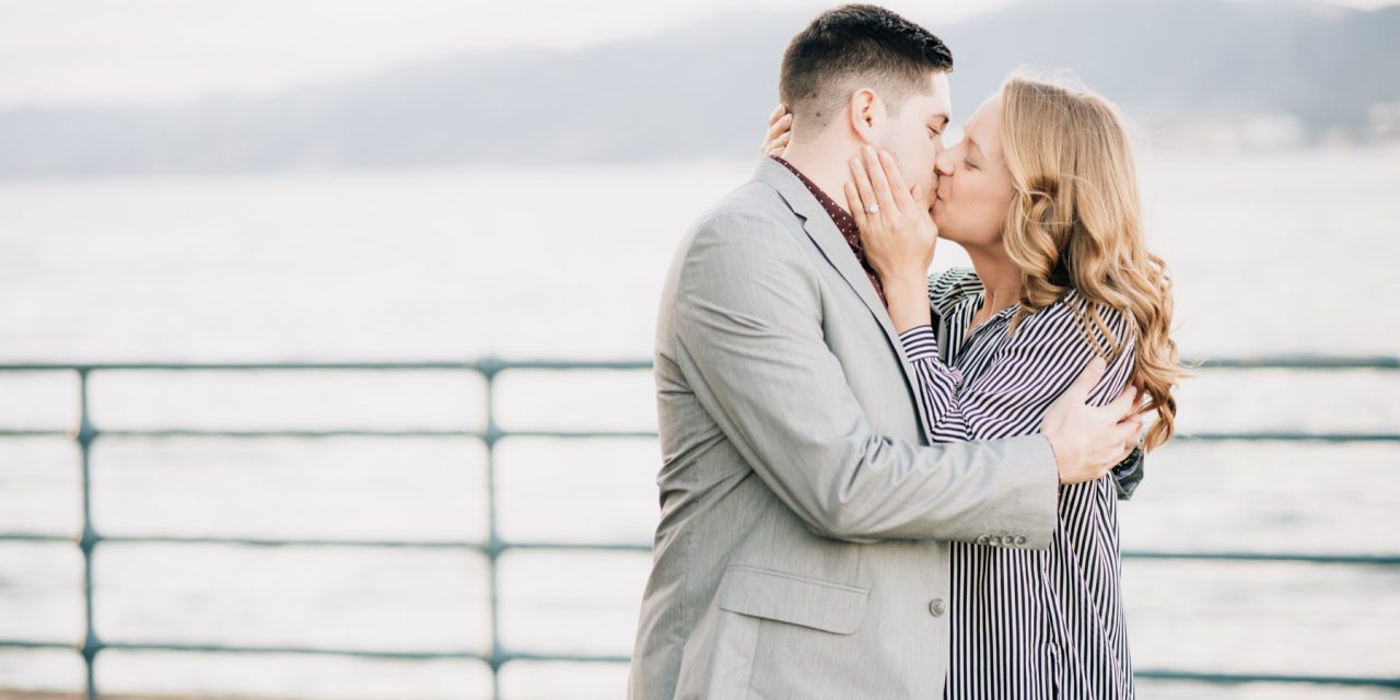 Surprise Proposal on the Santa Monica Pier | Los Angeles Proposal Photographer