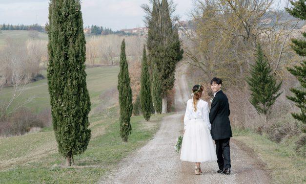 A Beautifully Rustic Honeymoon Shoot in Tuscany