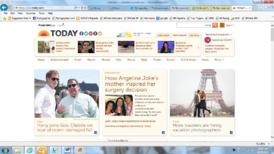 No big deal, just hanging out on Today.com with Prince Harry and Angelina Jolie!