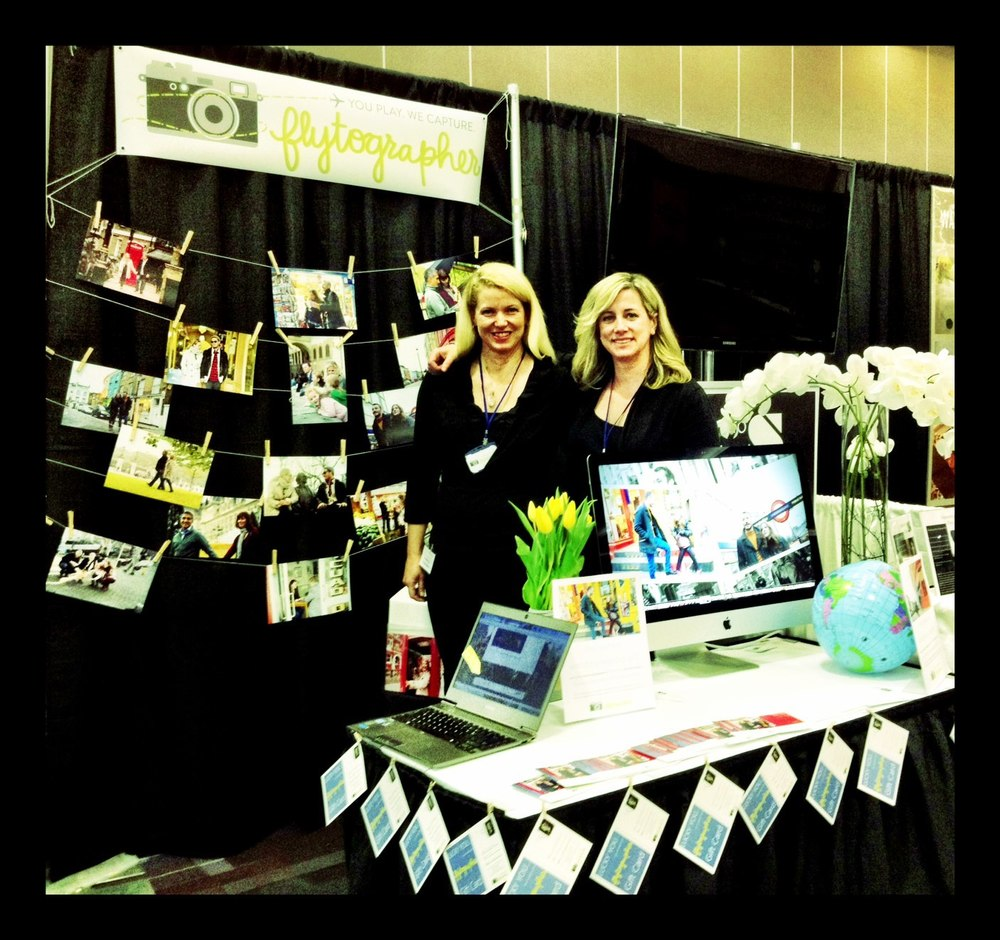 Our very first trade show in Vancouver, pre-launch in 2013.