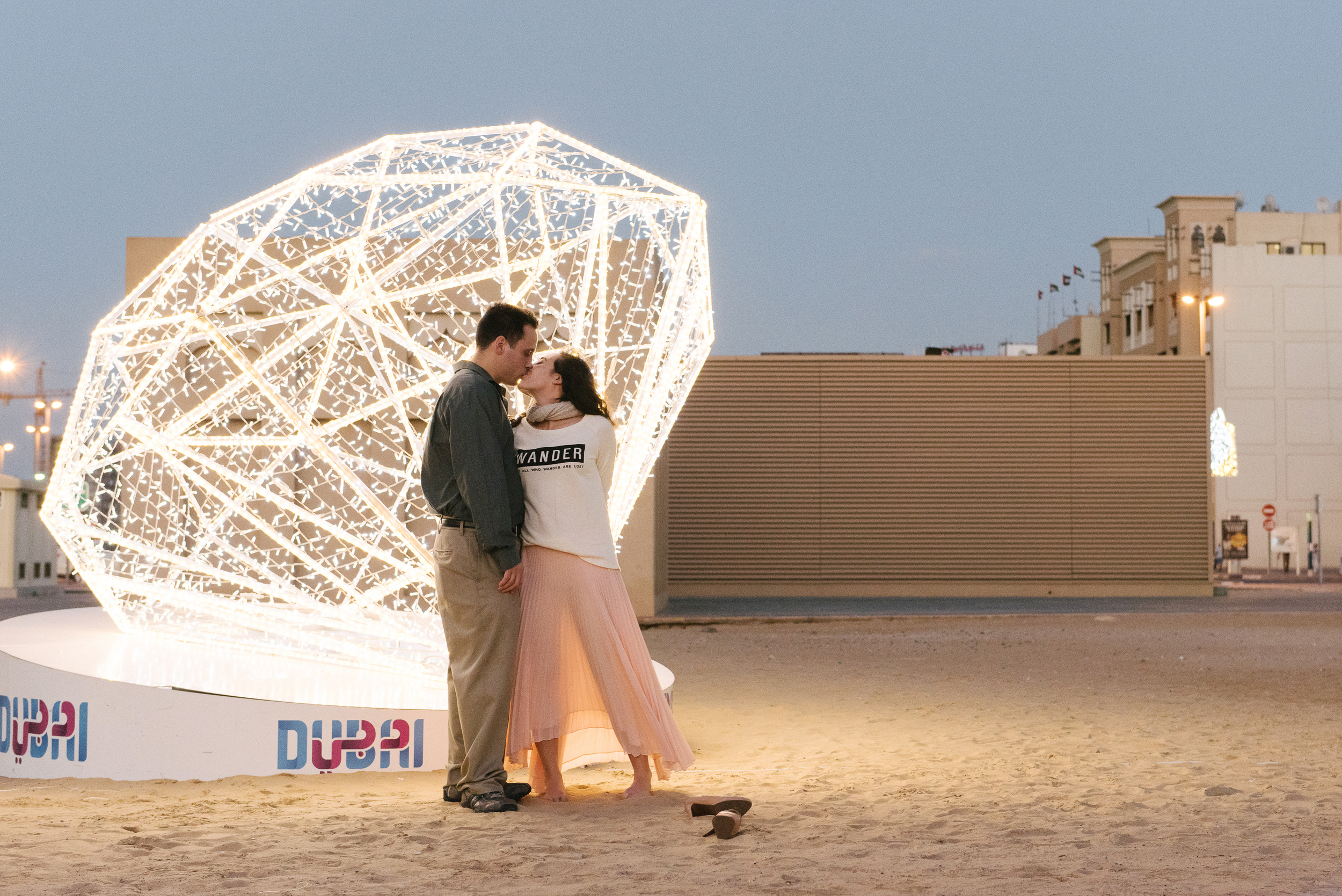 Flytographer in  Dubai .