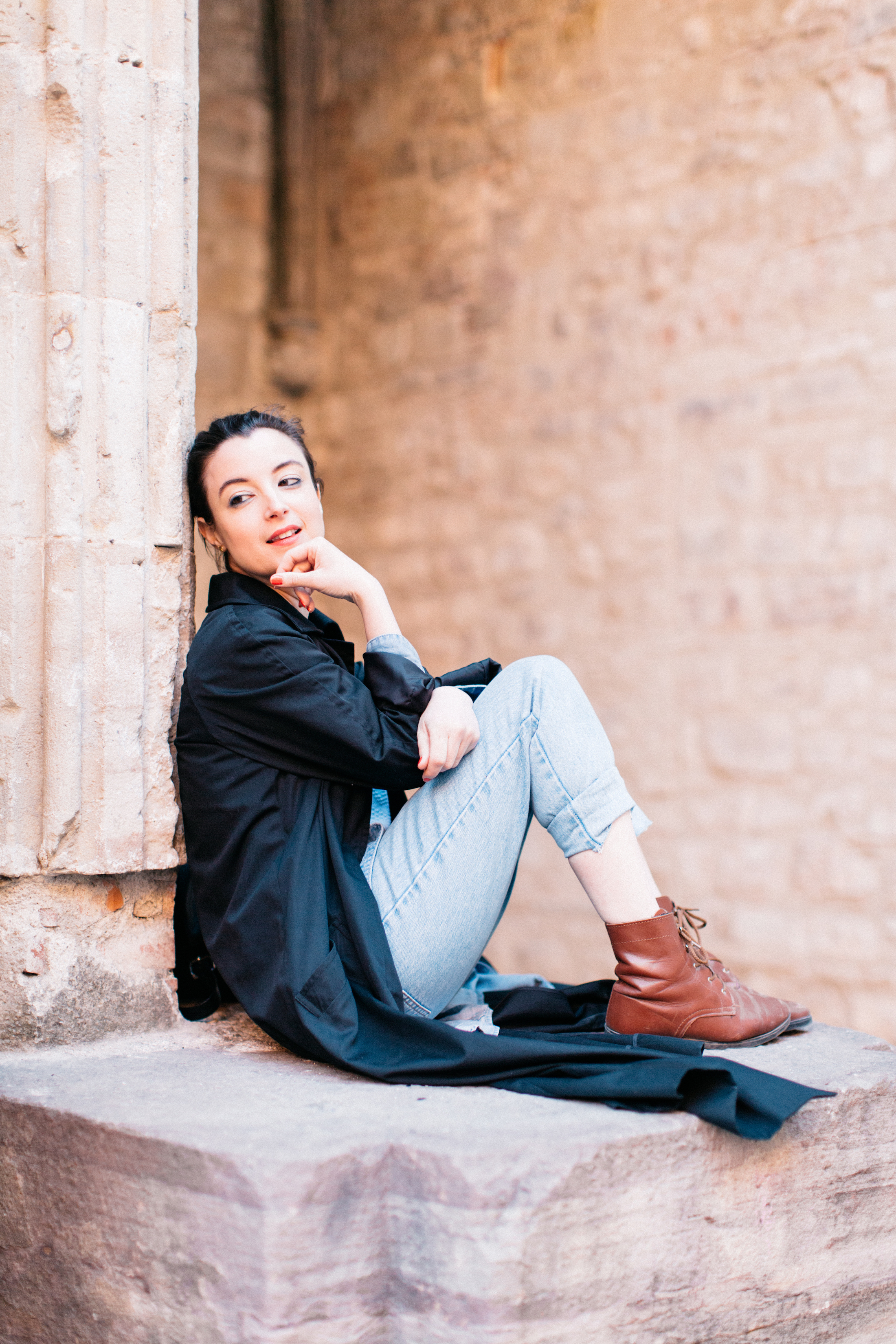 Martina from Barcelona generously acted as our model during the photowalk. Flytographer:  Natalie