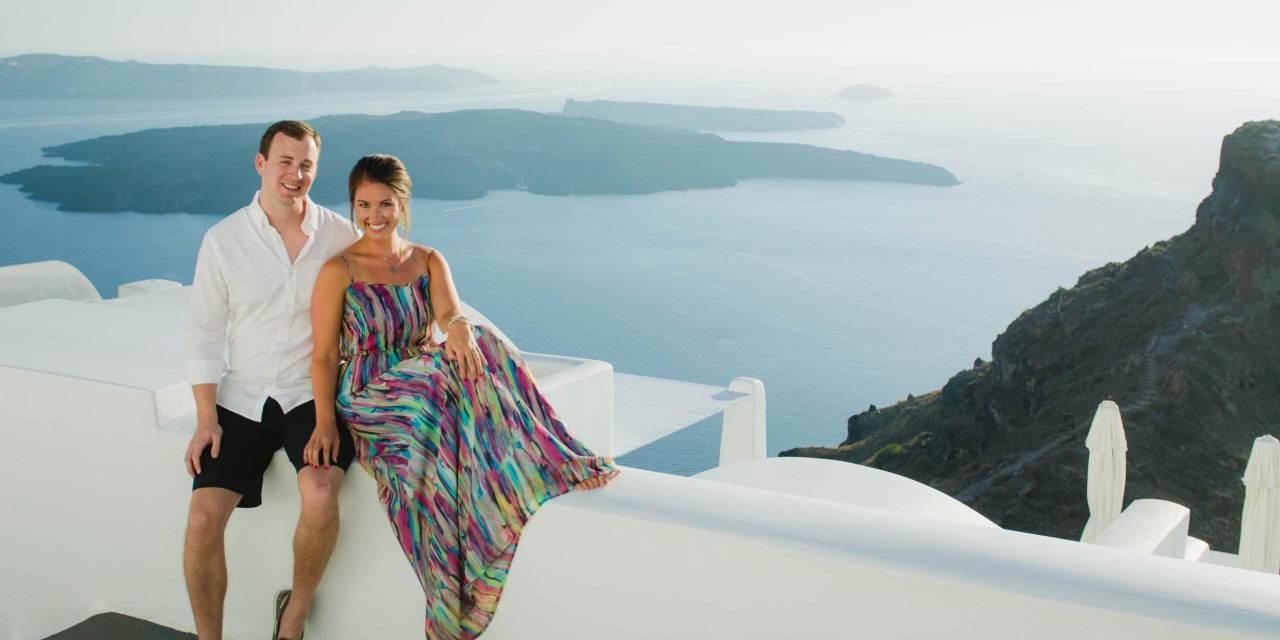 An Adventurous Greek Islands Honeymoon
