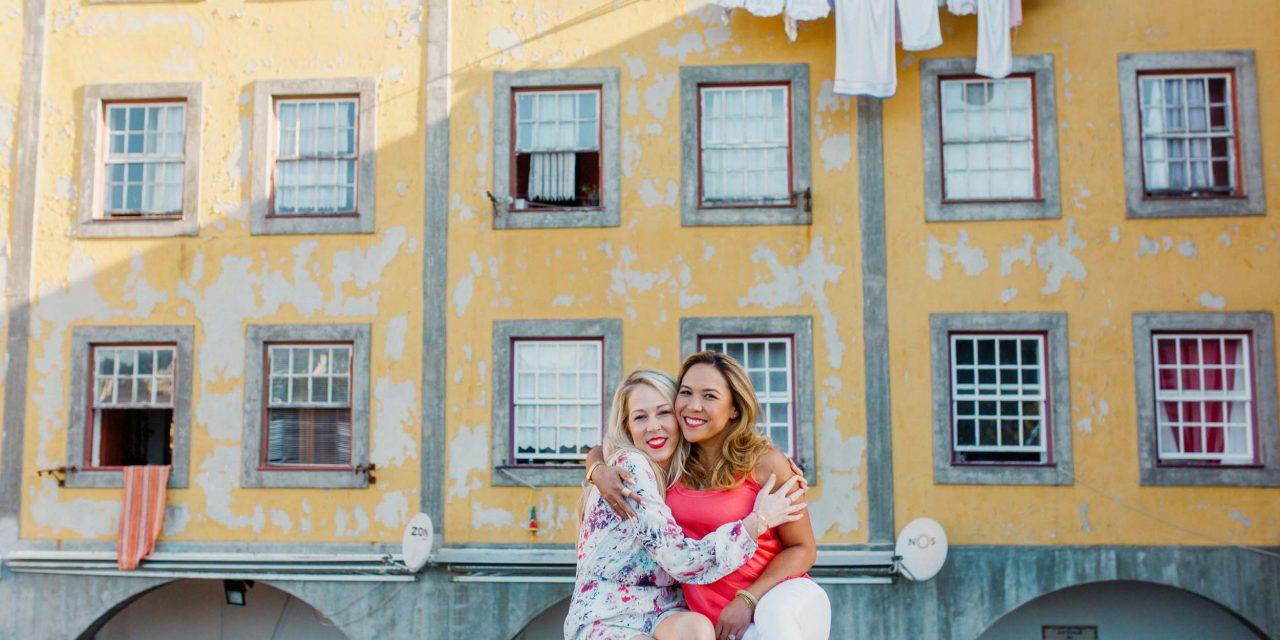 Best Friends Bonding in Portugal