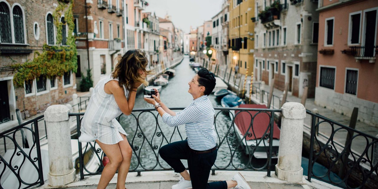 A Little Rain Couldn't Stop This Crazy-In-Love Couple's Proposal