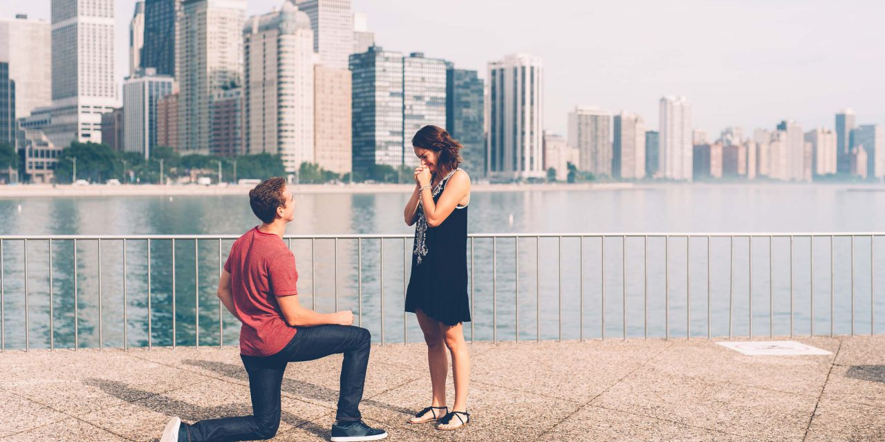 Planning a Weekend Getaway For a Surprise Proposal in Chicago