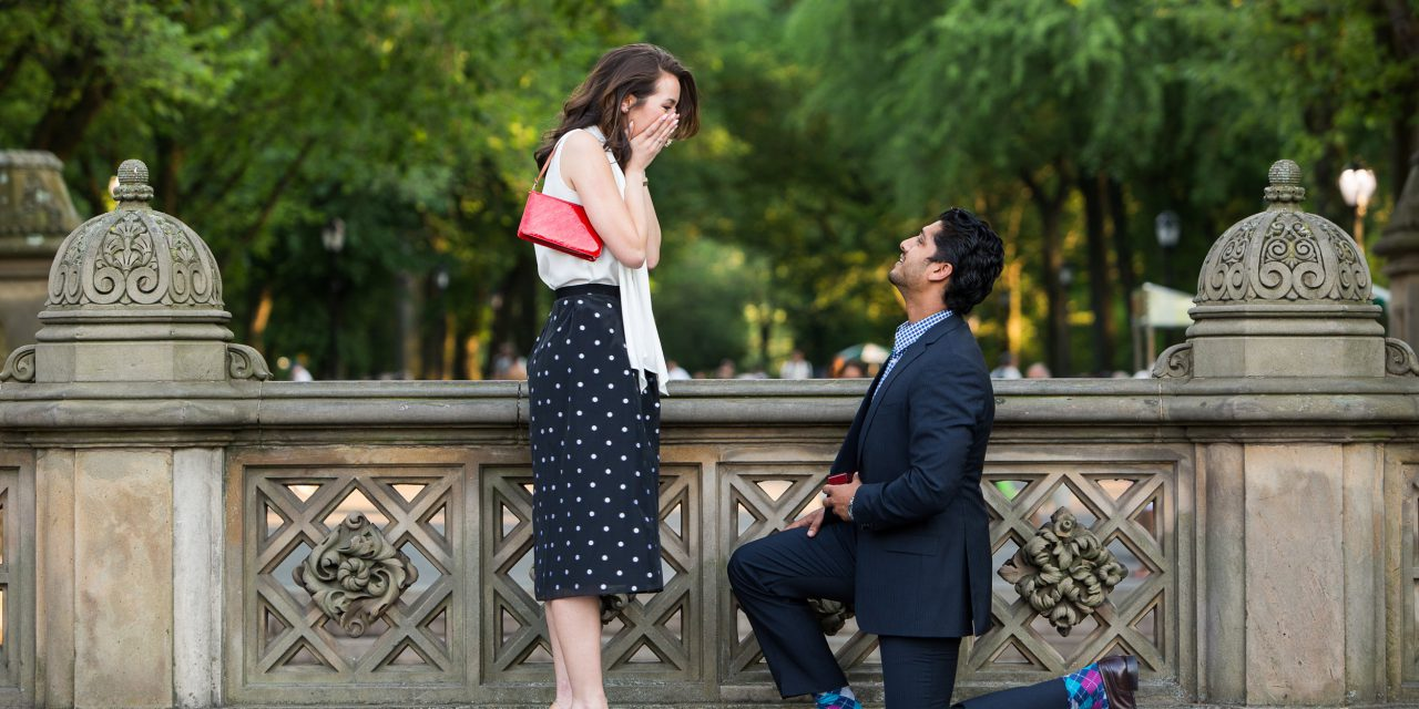A Cross-Continent Surprise Proposal in New York City