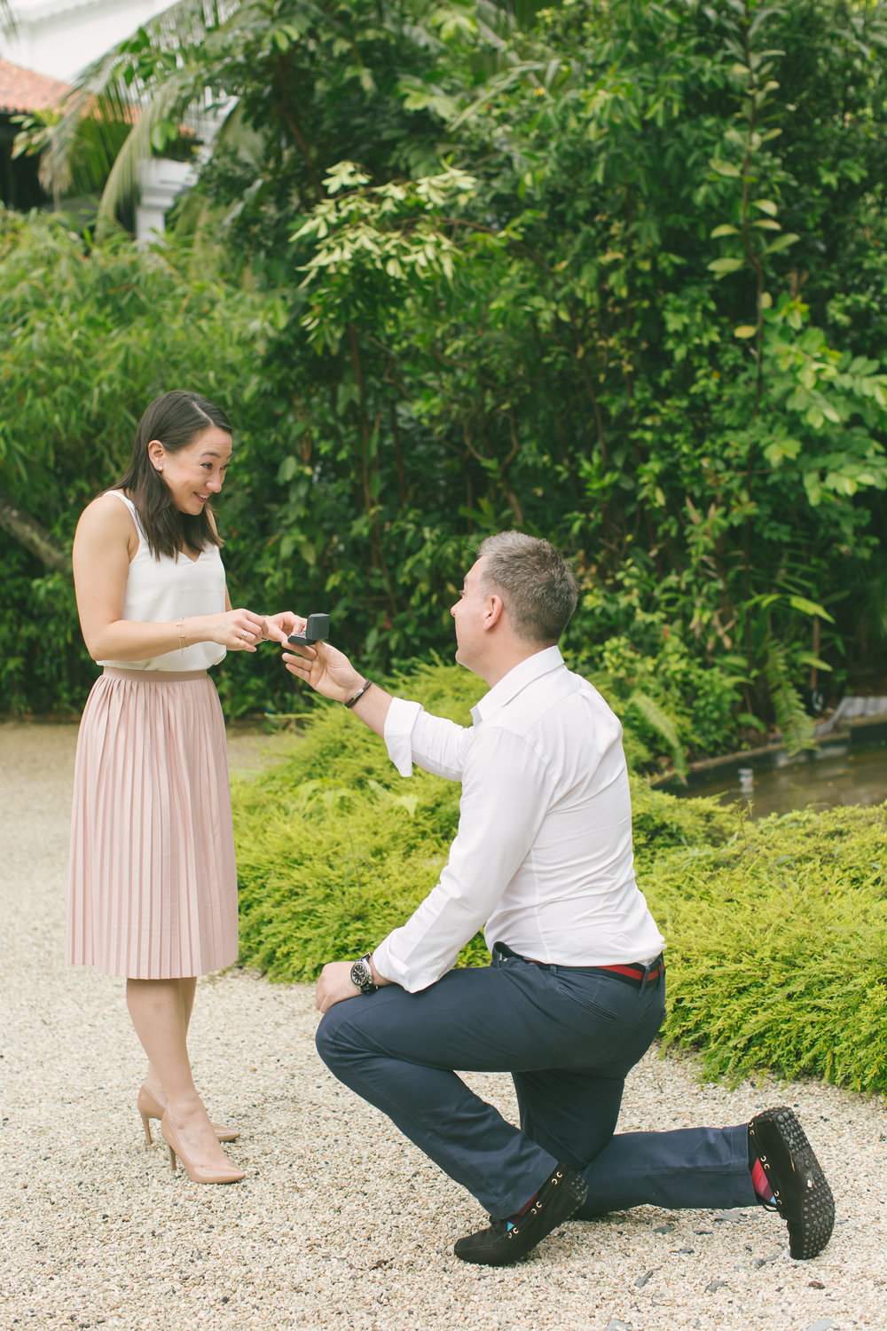 Michelle and Alvin in Singapore for Flytographer