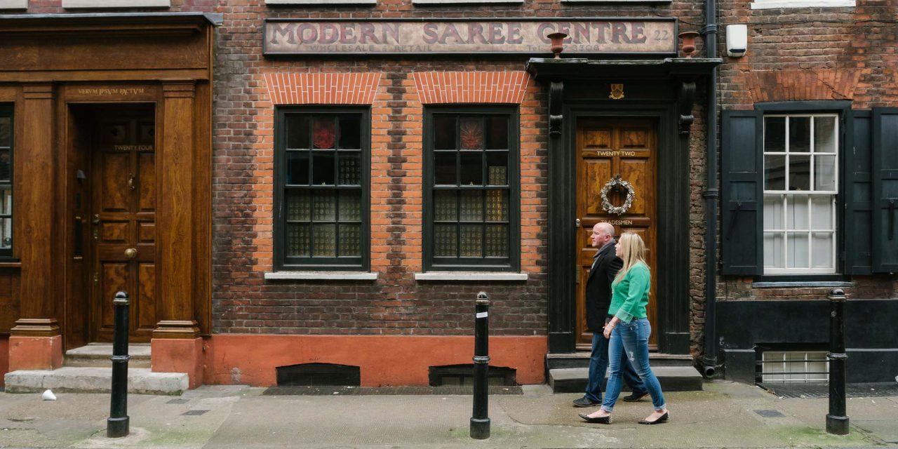 Explore Brick Lane with a London Flytographer