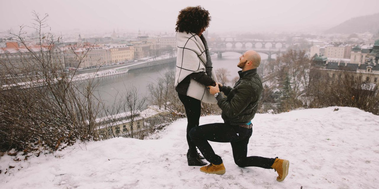 At Home in Prague for a Romantic Proposal
