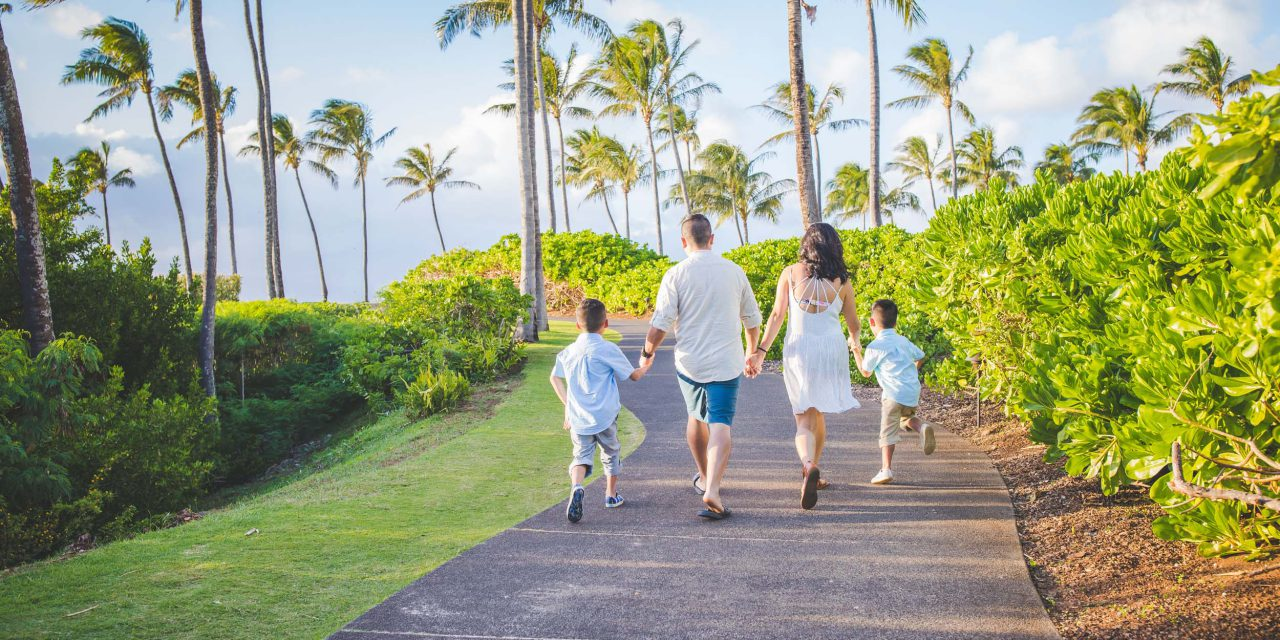 Gather the Family for Spring Break in Maui