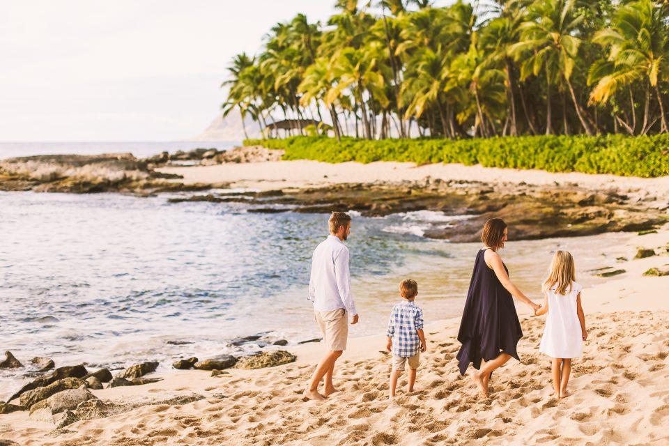 Family in Honolulu