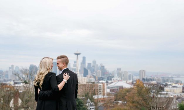 A Tearful Surprise Proposal in Seattle