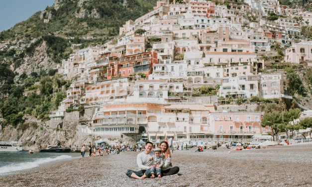A Birthday Celebration and Family Reunion in the Amalfi Coast