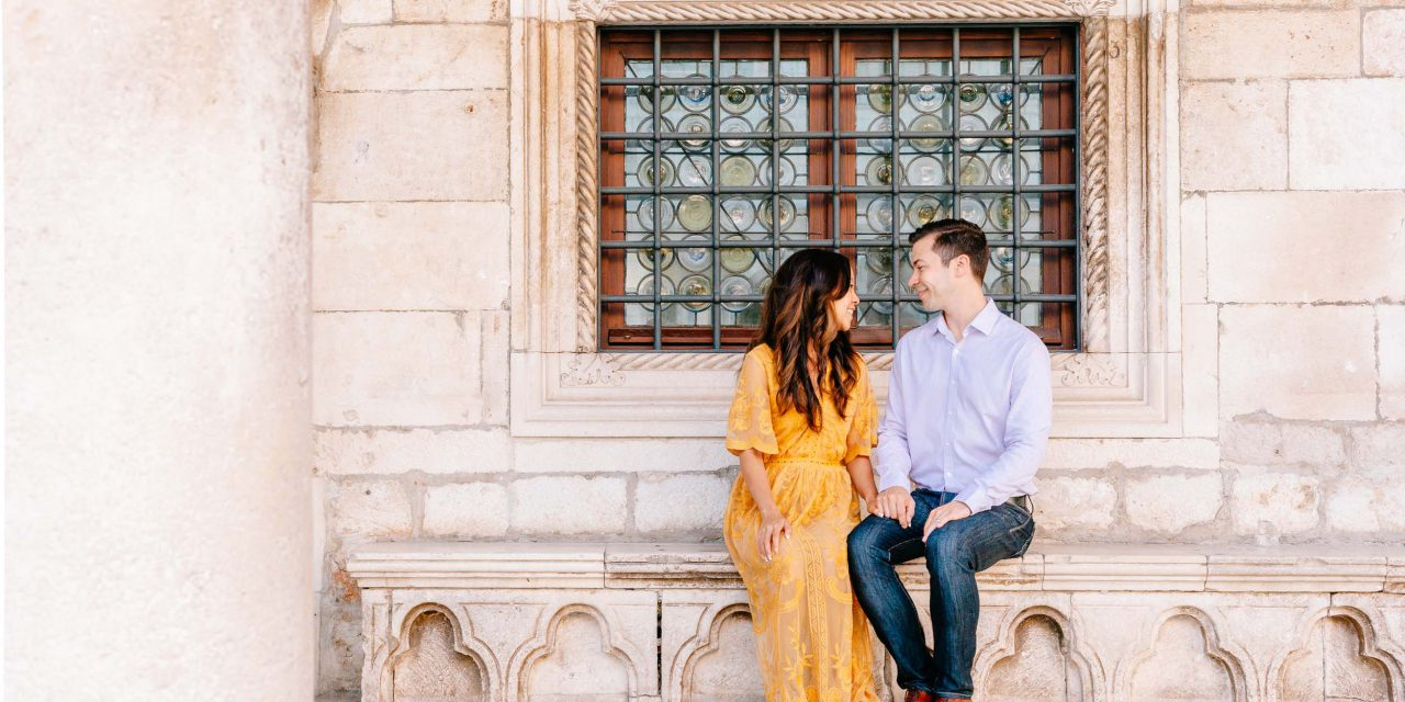 Embracing Newlywed Tradition on a Dubrovnik Honeymoon