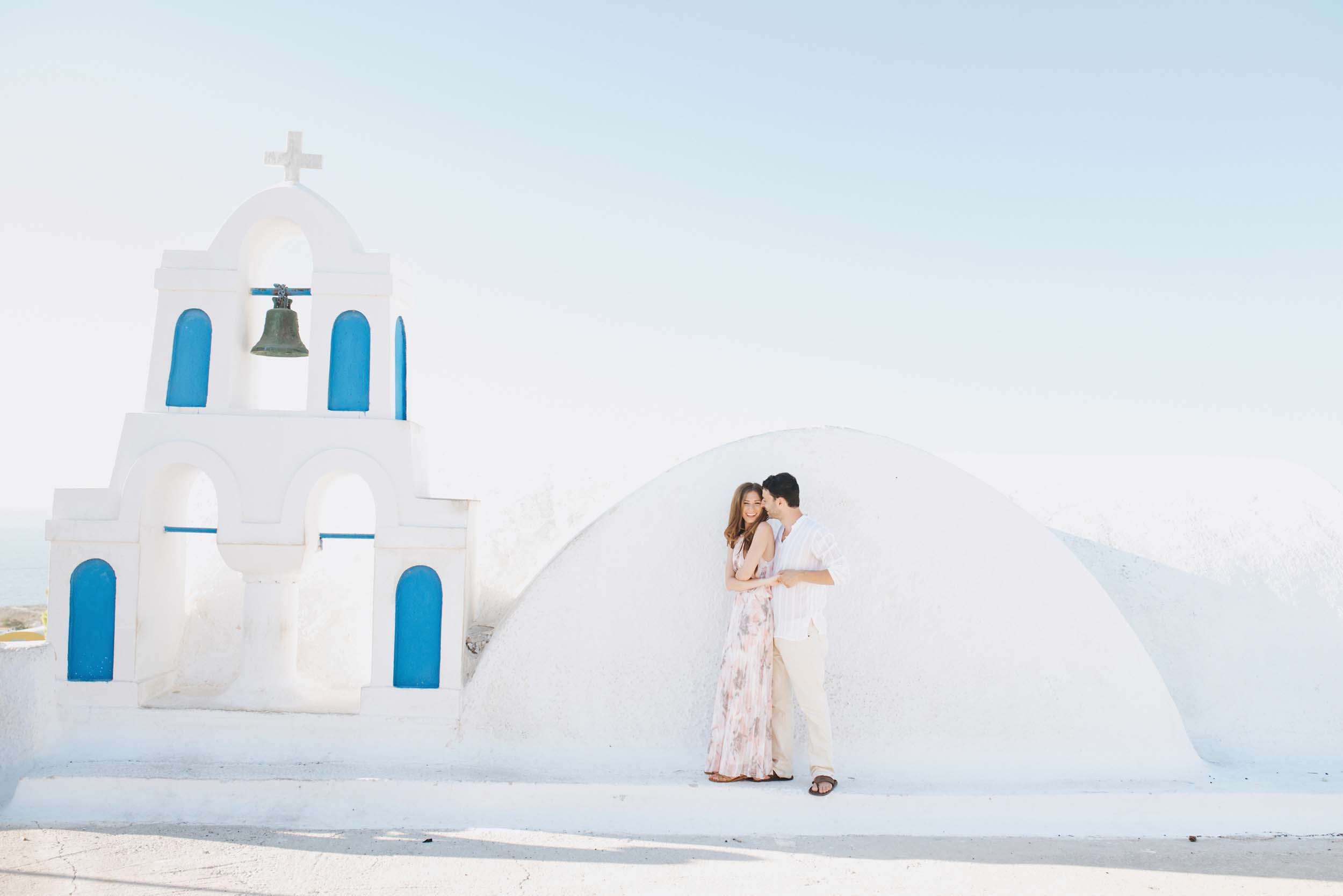 Well These Two Are Such Excellent Communicators That They Invented Their Own Word While Honeymooning In Santorini