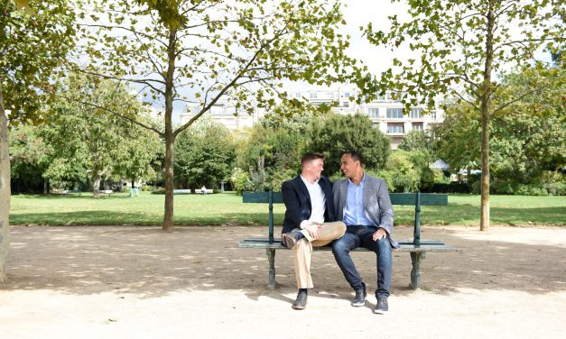 A Romantic Proposal Starring a Parisian Icon