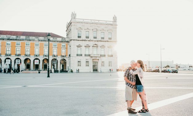 This Romantic Whirlwind Honeymoon Made the Most of the Long Trip There
