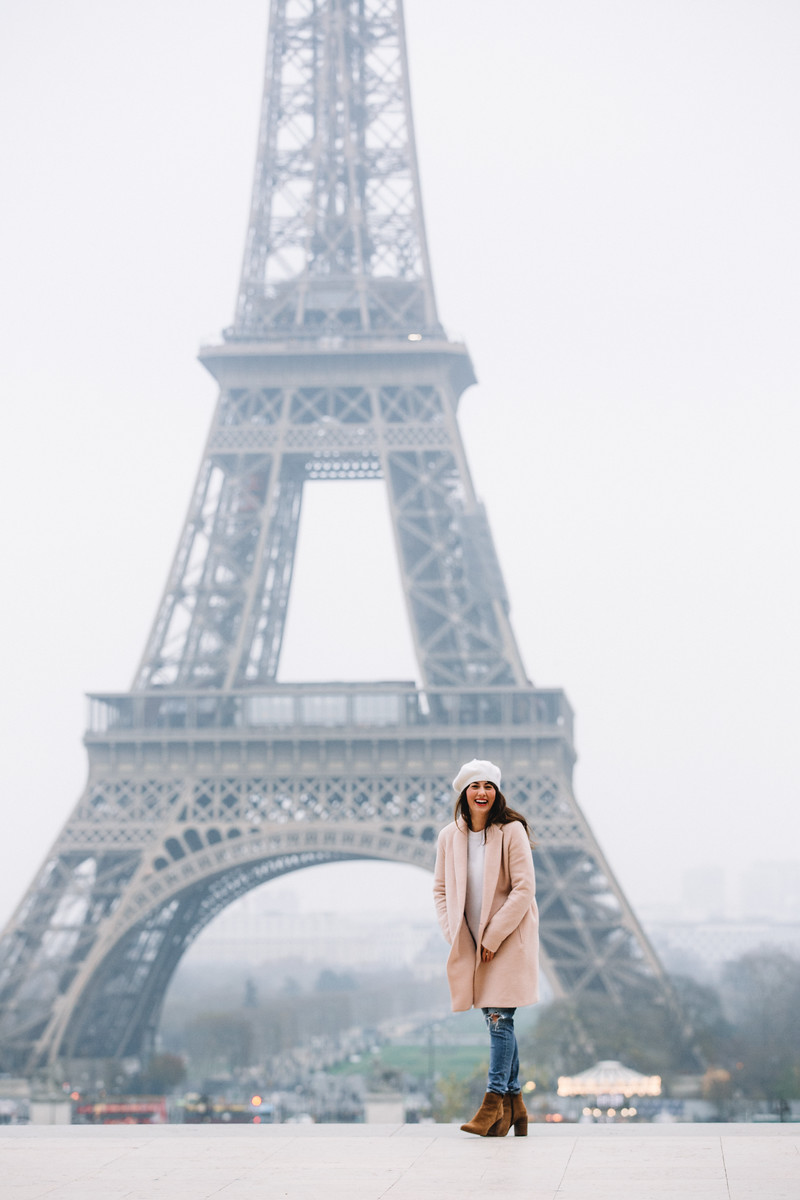 Flytographer Olga in Paris