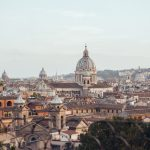 Rome skyline photographed by Flytographer Roberta
