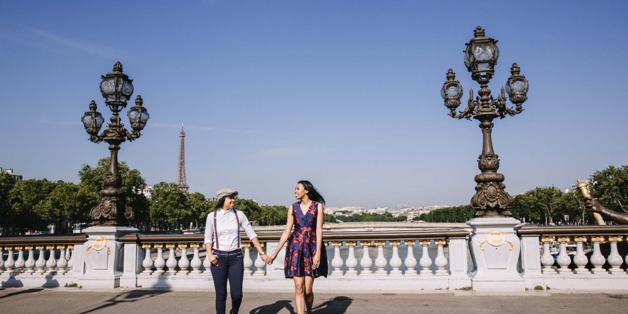 A Pride-ful Paris Engagement