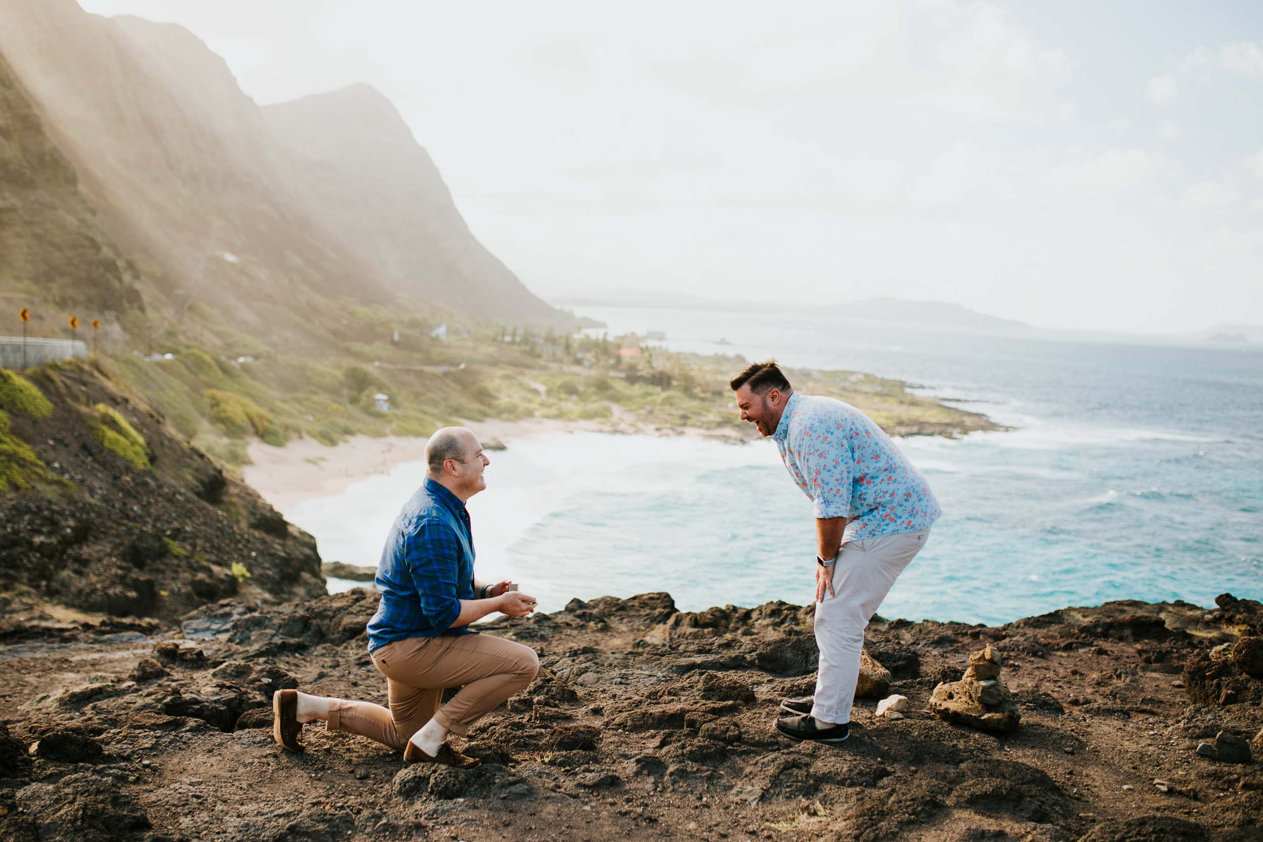 A Honolulu Beach Proposal and the Magic of Spontaneity