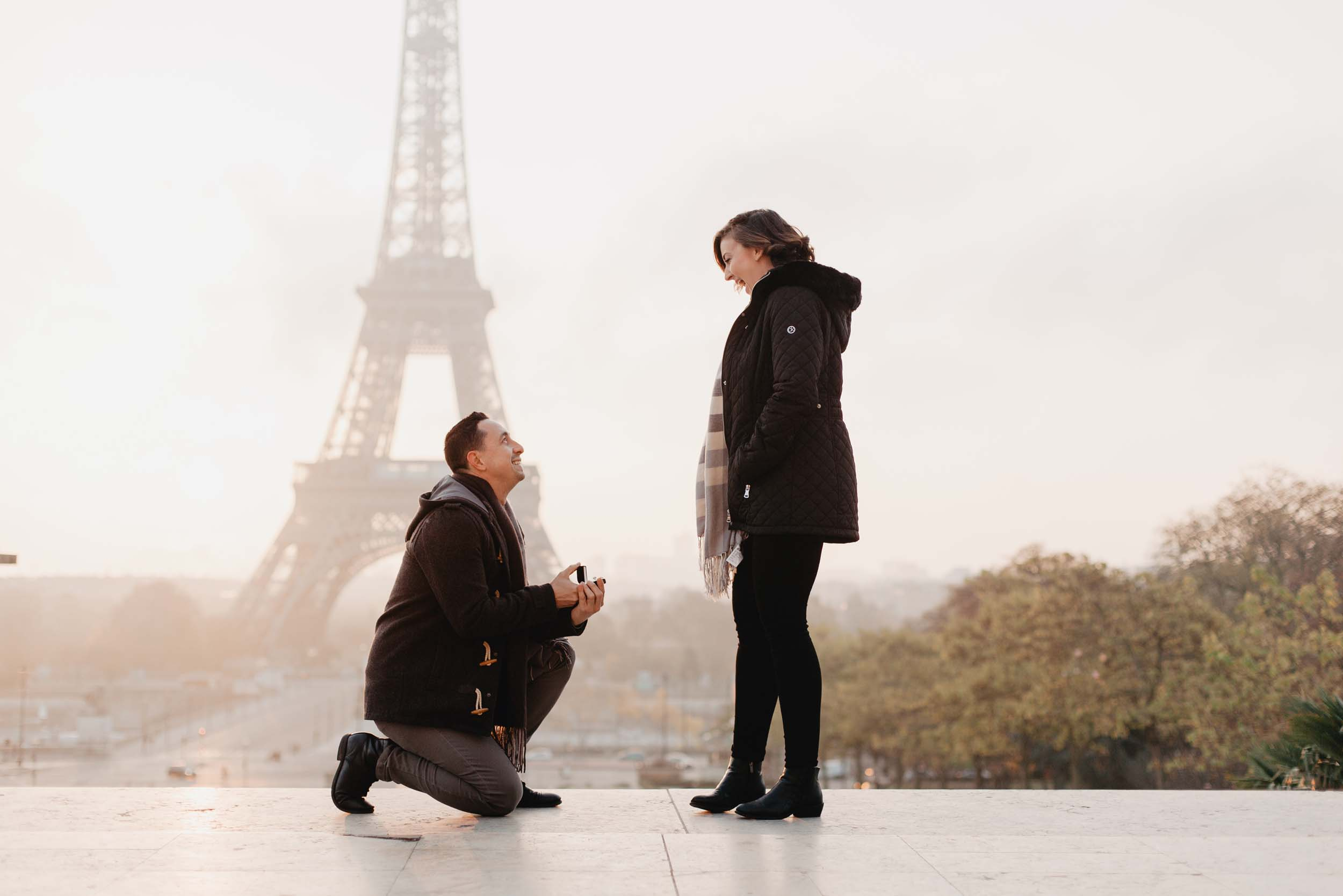 This Epic Paris Proposal Will Inspire You to Dream Big
