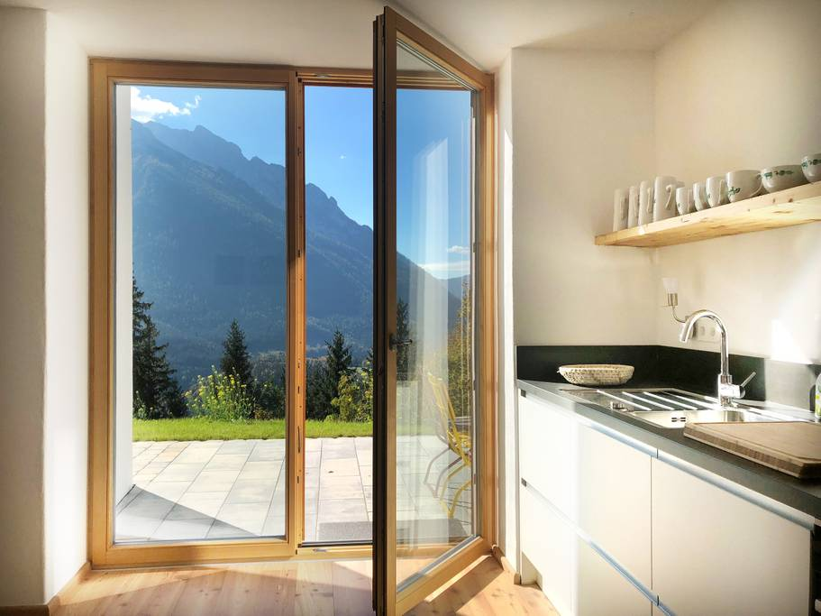 The Haus Eggergütl in Ramsau, Germany. (Photo: Courtesy Airbnb)